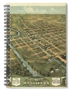 Massillon Ohio 1870 Spiral Notebook
