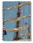 Mast Flags Spiral Notebook
