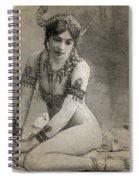 Mata Hari Sketch Spiral Notebook