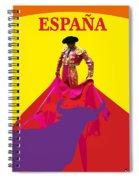 Matador De Toros Spiral Notebook