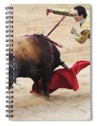 Matador El Cid II Spiral Notebook