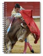 Matador Jose Maria Manzanares Iv Spiral Notebook
