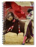 Matador Jose Tomas I Spiral Notebook