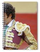 Matador Jose Tomas IIi Spiral Notebook