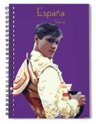 Spanish Matador Spiral Notebook