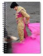 Matador Sebastian Castella Spiral Notebook