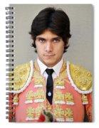 Matador Sebastian Castella V Spiral Notebook