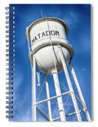 Matador Water Tower Spiral Notebook