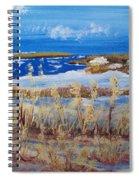 Matagorda Island Texas Spiral Notebook