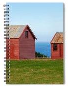 Matanaka Historic Site - Red Barn Spiral Notebook