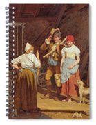 Maternal Admonition Spiral Notebook