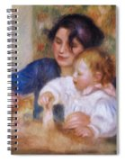 Maternal Love Spiral Notebook