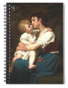 Maternal Love Spiral Notebook