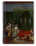 Private Chamber Of An Aristocratic Turkish Woman Spiral Notebook