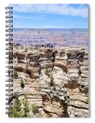 Mather Point At The Grand Canyon Spiral Notebook