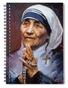 Mather Teresa Spiral Notebook