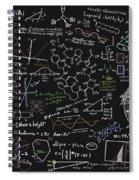 Maths Formula Spiral Notebook