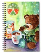 Matilda And The Lemon Curd Shortbread Spiral Notebook