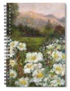 Matilija Poppies Spiral Notebook