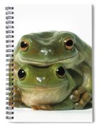Mating Frogs Spiral Notebook