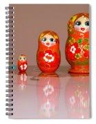 Matryoshka Memories Spiral Notebook