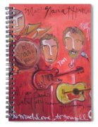 Matt Nasi Band Spiral Notebook