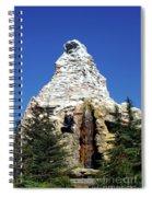 Matterhorn Disneyland Spiral Notebook