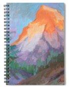Matterhorn Sunrise Spiral Notebook