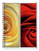 Matters Of The Heart - Diptych Spiral Notebook