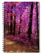 Matthiessen State Park Trail False Color Infrared No 2 Spiral Notebook