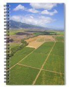 Maui Farmland Spiral Notebook