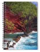 Maui Red Sand Beach Spiral Notebook
