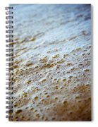 Maui Shore Bubbles Spiral Notebook