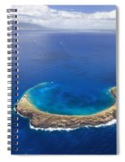 Maui, View Of Islands Spiral Notebook