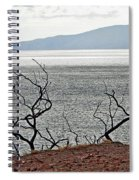 Maui's View Of Lanai Spiral Notebook