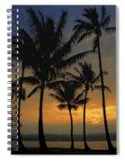 Mauna Loa Sunset - Big Island Hawaii Spiral Notebook