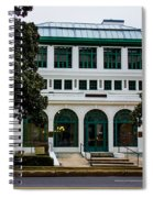 Maurice Bath House - Hot Springs, Arkansas Spiral Notebook