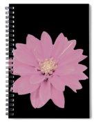 Mauve Flower Spiral Notebook