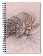 Mauviteer Ferns Spiral Notebook