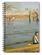 Max Schmitt In A Single Scull Spiral Notebook