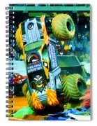Maximum Destruction Freestyle Spiral Notebook