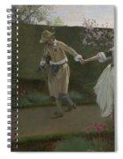 May Day Morning Spiral Notebook