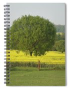 May Fields Spiral Notebook