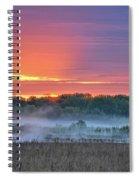 May Ground Fog Spiral Notebook