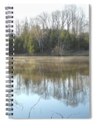 May Morning Mississippi River Spiral Notebook