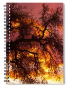 May One Sunset Spiral Notebook