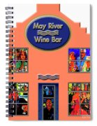 May River Wine Bar Spiral Notebook