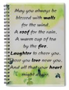 May You Always Be Blessed Spiral Notebook