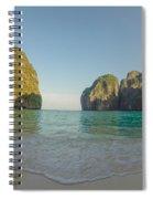 Maya Bay Sunrise Spiral Notebook