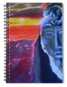 Maya Sunset Spiral Notebook